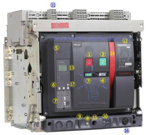 Air Circuit Breaker (ACB) : Construction, Operation, Types & Applications